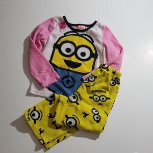 Despicable me 2 pajama set